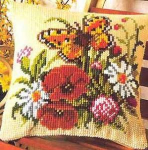 Схема Бабочка и цветы