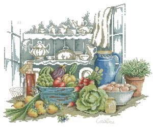 Схема Натюрморт кулинарный