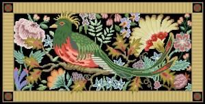 Схема Птица в саду (прямоугольная)