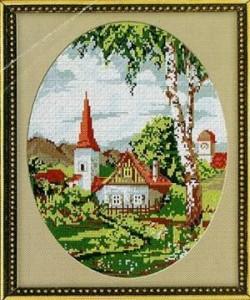 Схема Русская деревня