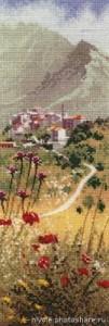 Схема Корсиканская деревня