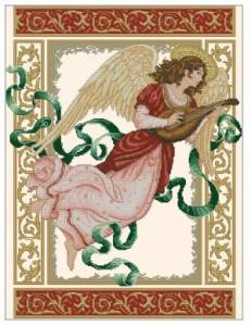Схема Ангельская мелодия / Angelic melody