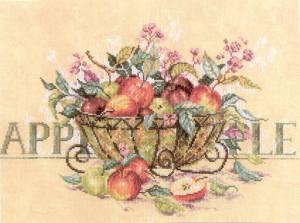 Схема Яблоки в корзине