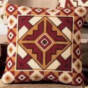 Схема Коричневая подушка