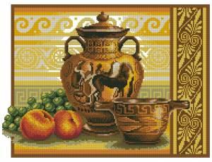 Схема Греческие вазы