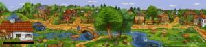Схема Деревня
