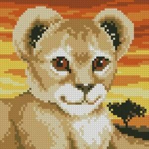 Схема Милый львенок