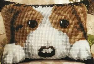 Схема Прямоугольные подушки. Щенок