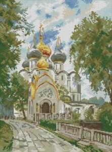 Схема Новодевичий монастырь