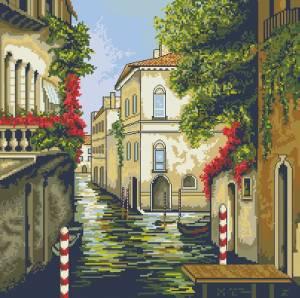 Схема Венеция, улочка