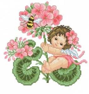 Схема Фея герани / Geranium fairy