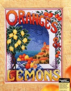 Схема Апельсин и лимон