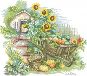 Схема Урожай в тележке