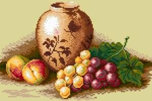 Схема Персики и виноград