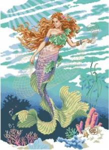 Схема Принцесса океана (русалка)