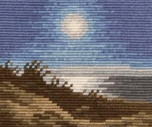 Схема Лунная ночь / Moonlit Night