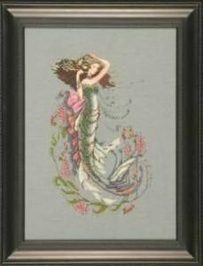 Схема Русалка на юге моря / The south seas mermaid