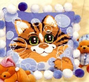 Схема Кот в пузырях