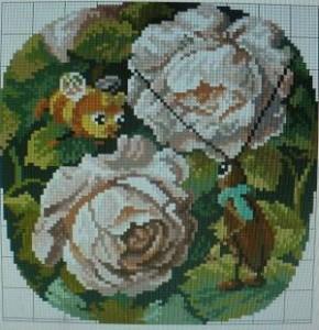 Схема Жуки в розах