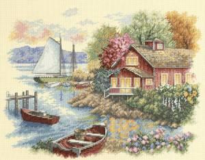 Схема Дом у озера