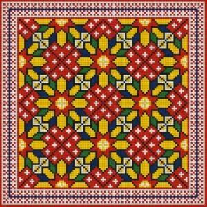 Схема Цветы в геометрии