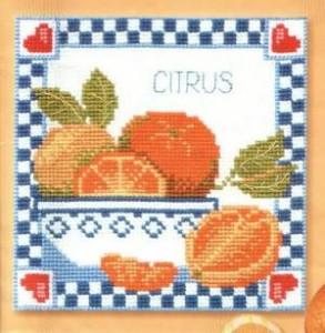 Схема Любимые апельсины