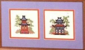 Схема Восточные пагоды / Oriental Reflections Pagodas