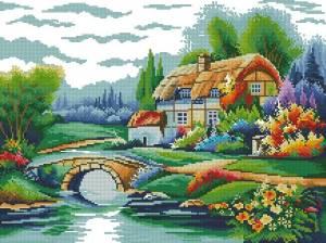 Схема Домик у озера