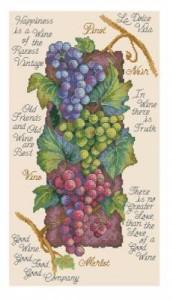 Схема Винный виноград