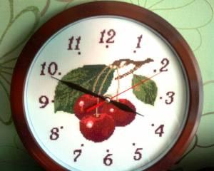 Схема Вишневые часы