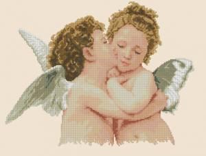 Схема Ангельский поцелуй