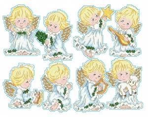 Схема Маленькие ангелочки