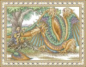 Схема Менестрель с драконом