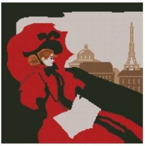 Схема Прекрасная дама / Bonjour, Paris!