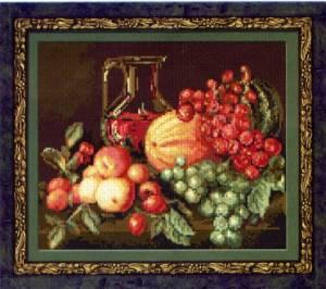 Схема Натюрморт с фруктами