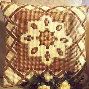 Схема Подушка с узором, цветок
