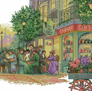 Схема Кафе