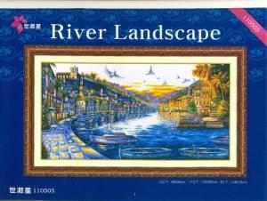 Схема Речной пейзаж / River Landscape