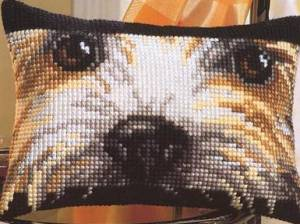 Схема Прямоугольная подушка. Собака