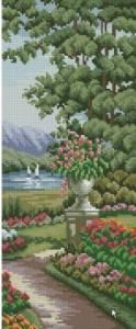Схема Прекрасный сад, озеро