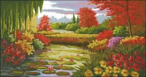 Схема Красивый пейзаж