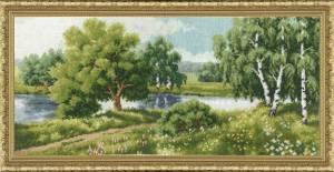 Схема У реки