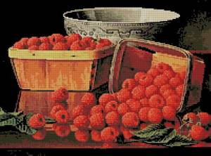Схема Корзина с малиной
