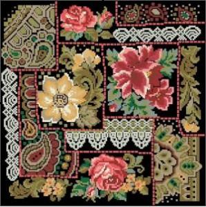 Схема Цветы — узоры