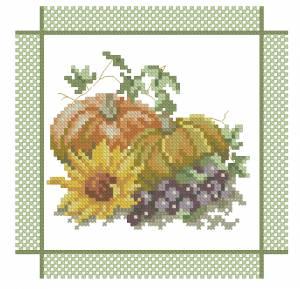 Схема Тыква и виноград