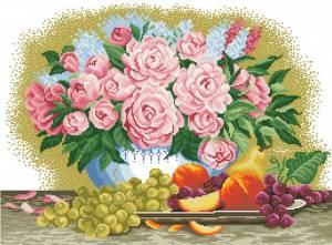 Схема Фрукты, цветы