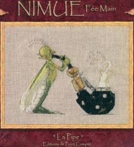 Схема Мотылёк и трубка / Nimue La Pipe