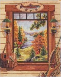 Схема Окно рыбака