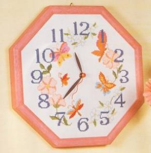 Схема Бабочки на цветах