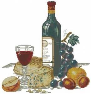 Схема Сыр и красное вино